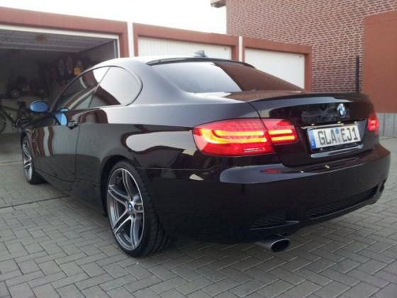E92 Black Sapphir mit 19`BMW Performance 313 Sommer Rädern