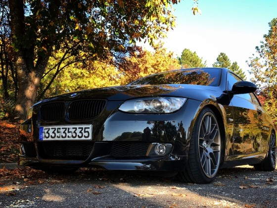 E92 Coupe im Herbst