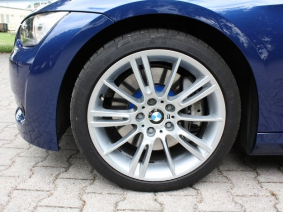 335iA M-Paket Le Mans blau, Leder cream beige