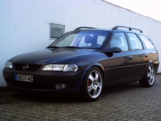 mein letztes Fz. bis 2010: Opel Vectra B Caravan 2.5i