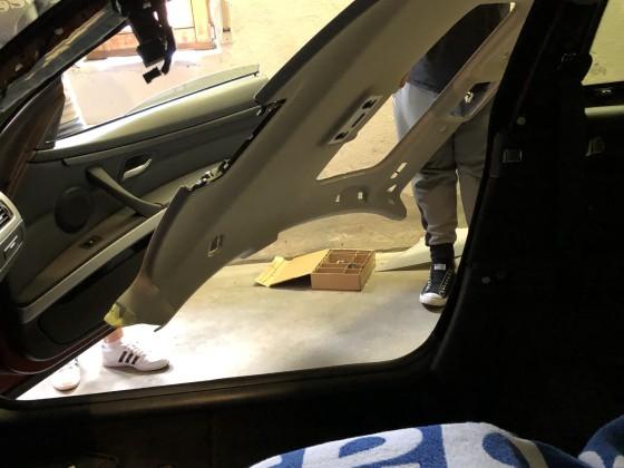 E92 Dachhimmel - Raus damit
