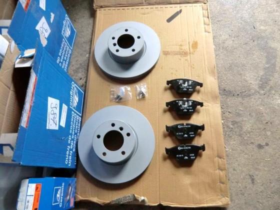Bremsen VA erneuert >>> ATE Ceramic
