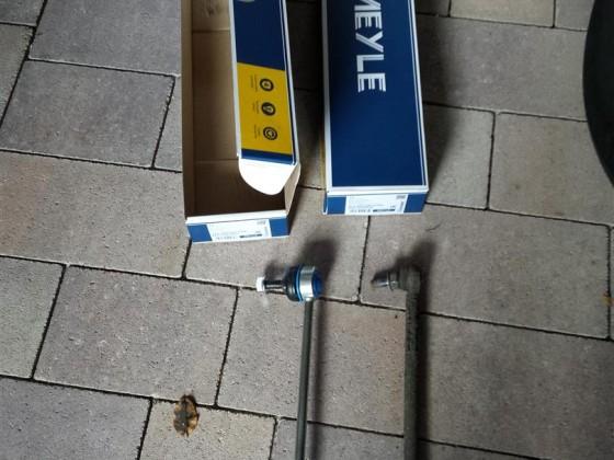 Koppelstangen VA ersetzt (Meyle HD)
