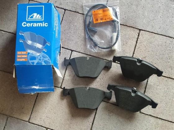 Bremsbeläge VA erneuert >>> ATE Ceramic