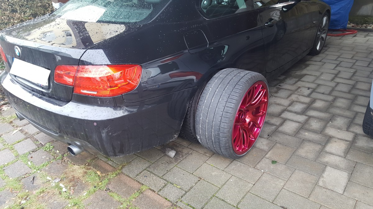 BBS CHR 20 Zoll In Candy Red 2