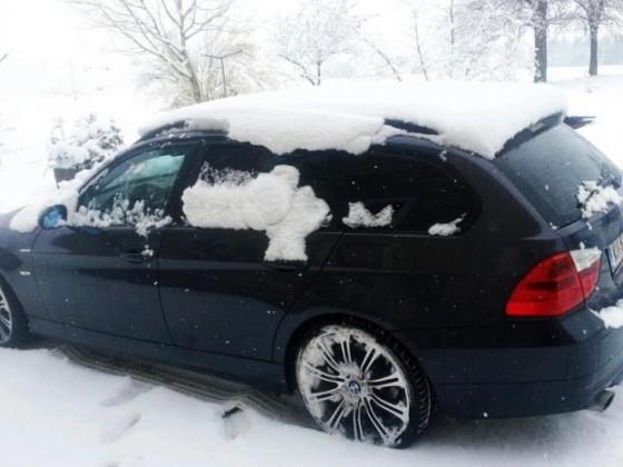 schnee zu ostern!!