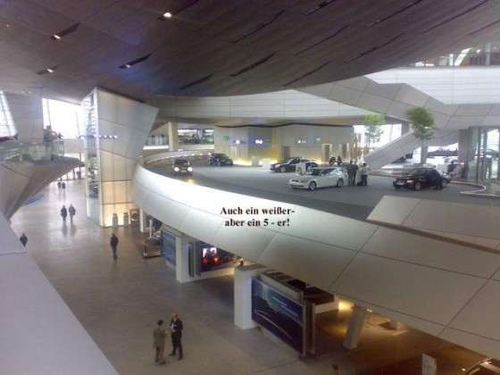 BMW-Welt - Abholderdeck