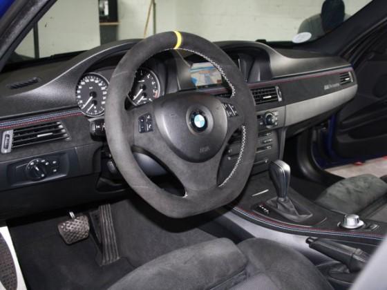 BMW E90 Interieurleisten Alcantara Performance
