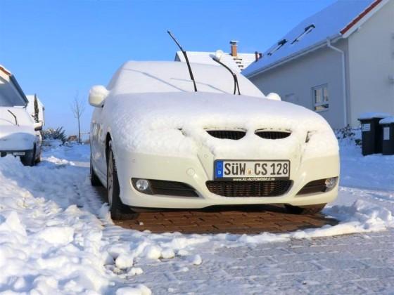 Schneebilder 2012