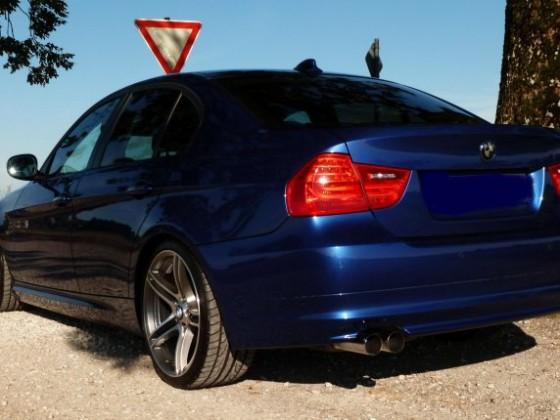 Mein blauer Trecker... 320d LCI Montegoblau-Metallic