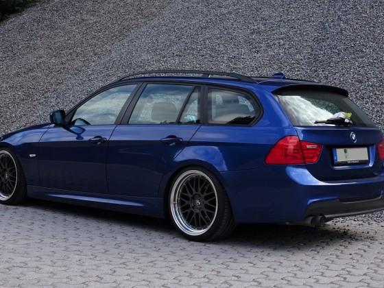 BMW E91 hinten