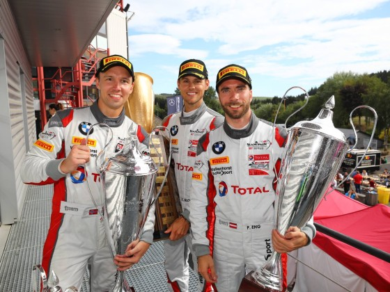 Spa 24 2018 Winning Team