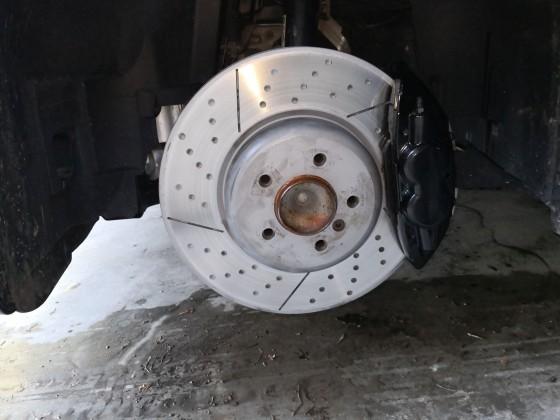 E93 Bremsenupgrade