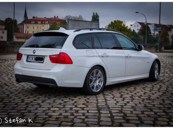 BMW E91 325d LCI M Alpinweiß III
