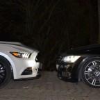 Ford Mustang GT 5.0 Cabrio Höhenvergleich