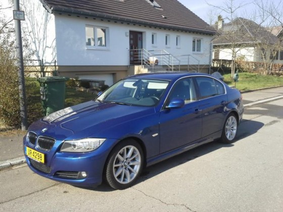 E90 325d Montego Blau