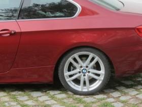 320d Coupe Vermillionrot