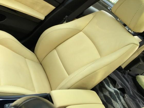 Beifahrersitz auch sauber
