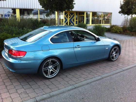 Mein Atlantik Blaues Coupe